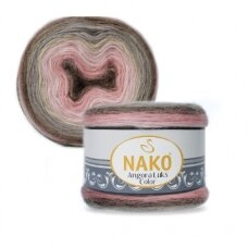 Nako Angora Luks Color, 150 g., 810 m.
