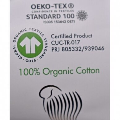 Organic Baby Cotton, 50g., 115m. 2
