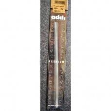 addi Premium  double pointed  steel needles, 20cm., 1.25 mm.