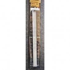 addi Premium  double pointed  steel needles, 20cm., 1.75 mm.