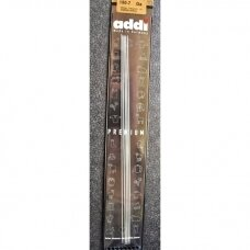 addi Premium  double pointed  steel needles, 20cm., 2.5 mm.