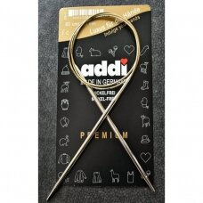 ADDI Premium Circular Knitting Needles, 6mm., 80cm.