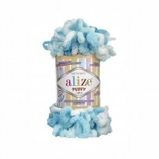 Alize Puffy Color, 100 g., 9m.