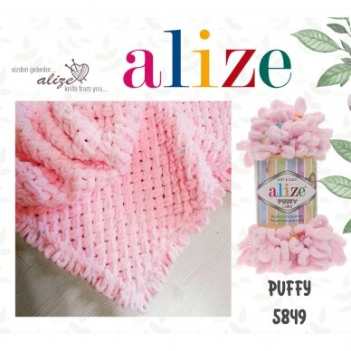 Alize Puffy, 100 g., 9 m. 5