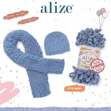 Alize Puffy, 100 g., 9 m. 10