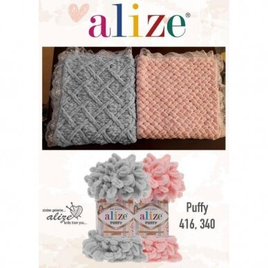 Alize Puffy, 100 g., 9 m. 7