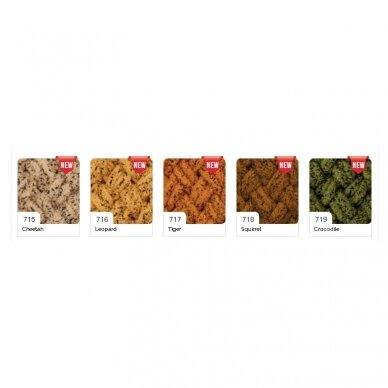 Alize Puffy Animal Colors, 100 g., 9 m. 2