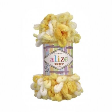 Alize Puffy Color, 100 g., 9 m.