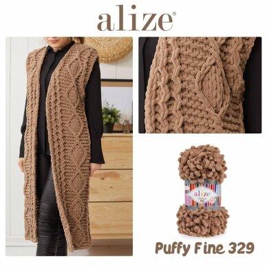 Alize Puffy Fine, 100 g., 14 m. 5