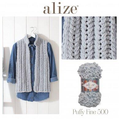 Alize Puffy Fine, 100 g., 14.5 m. 5