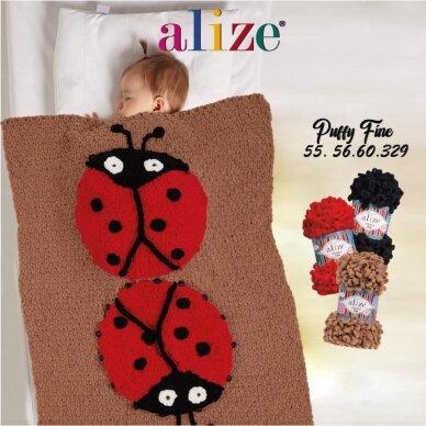 Alize Puffy Fine, 100 g., 14.5 m. 16