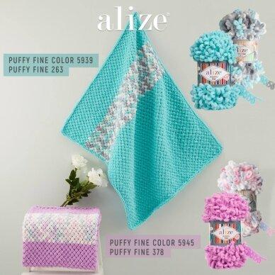 Alize Puffy Fine Color, 100 g., 14.5 m. 7