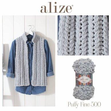 Alize Puffy Fine Color, 100 g., 14.5 m. 2