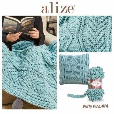 Alize Puffy Fine Color, 100 g., 14.5 m. 4