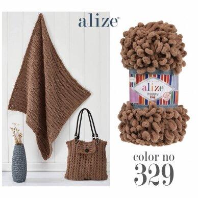 Alize Puffy Fine Color, 100 g., 14.5 m. 16