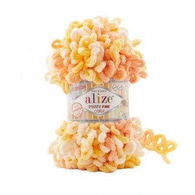 Alize Puffy Fine Color, 100 g., 14.5 m. 5