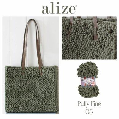 Alize Puffy Fine Color, 100 g., 14.5 m. 3