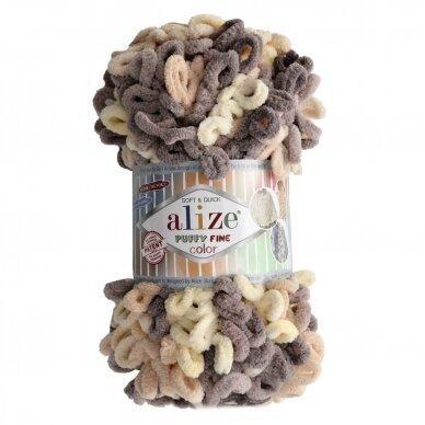 Alize Puffy Fine Color, 100 g., 14.5 m.