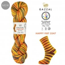 Gazzal Happy Feet, 100g., 330m.