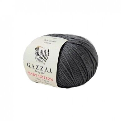 Gazzal Baby Cotton, 50г, 165м 2