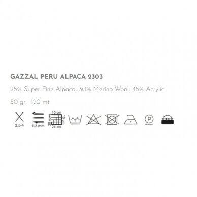 Gazzal Peru Alpaca, 50g., 120m.
