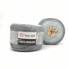 YarnArt Flowers Moonlight, 250 g, 1000 m