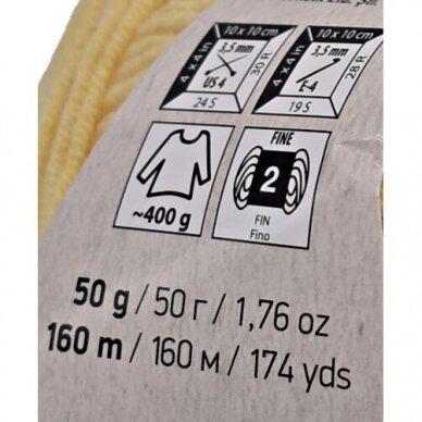 YarnArt Jeans, 50 g., 160 m. 2